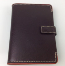 inTempo Brown Agenda Book with Address, Phone and Notepad MSRP $55.00 - $19.79