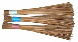 Jhadu Indian Traditional Home Cleaning Broom 3 Variants Assorted Color image 2
