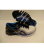 Mens Asics running shoes gel kinsei 6 silver black blue size 7 us new - $148.45
