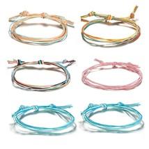 6Pcs/set Fashion Bohemia Bracelet For Women Boho Bracelets&Bangles Set J... - $7.30