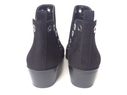 753cc25c433d8e Circus Sam Edelman Paula Black Studded Grommets Ankle Booties Boots  Festival S 6