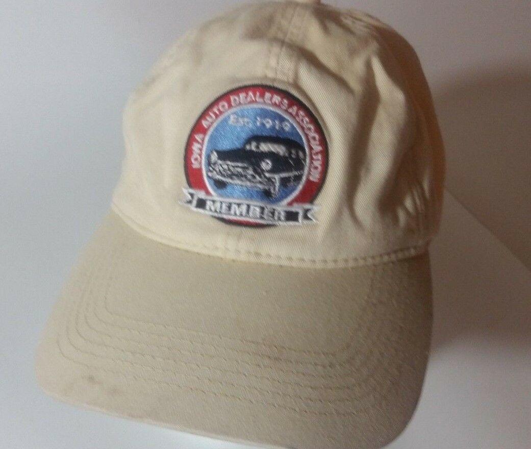 Iowa Automobile Dealers Association: Iowa Auto Dealers Association Member Hat Cap Mens