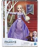 Disney Frozen Arendelle Elsa Fashion Doll with Detailed Ombre Blue Dress... - $29.15