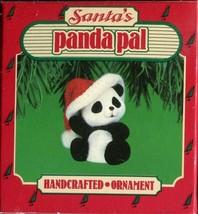 1986 - New in Box - Hallmark Christmas Keepsake Ornament - Santa's Panda... - $2.96