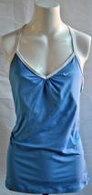 Nike Women's Dri Fit Size XL Blue Tank Top - $17.81