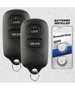 2 For 1999 2000 2001 Toyota Camry Keyless Entry Car Remote Key Fob GQ43V... - $13.83