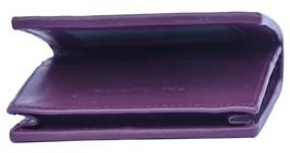 Stylish Electric Purple Bifold Shape Palpable Crocodile Leather Classy Wallet - $176.39