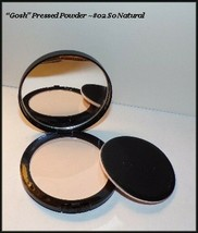 """NEW """"Gosh"""" Pressed Face Powder #02 So Natural  Made In Denmark  FREE SHI... - $7.95"""