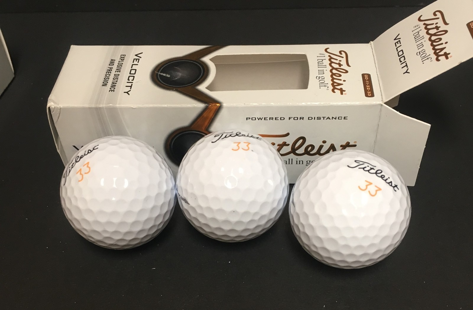 Titleist Velocity Golf Balls White NEW IN BOX 12 Total image 7