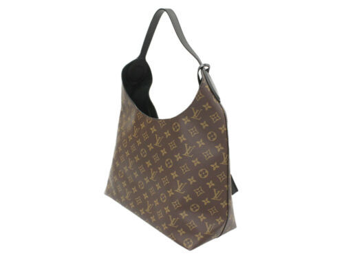 LOUIS VUITTON Flower Hobo Monogram Noir M43545 Shoulder Bag Authentic 5334421