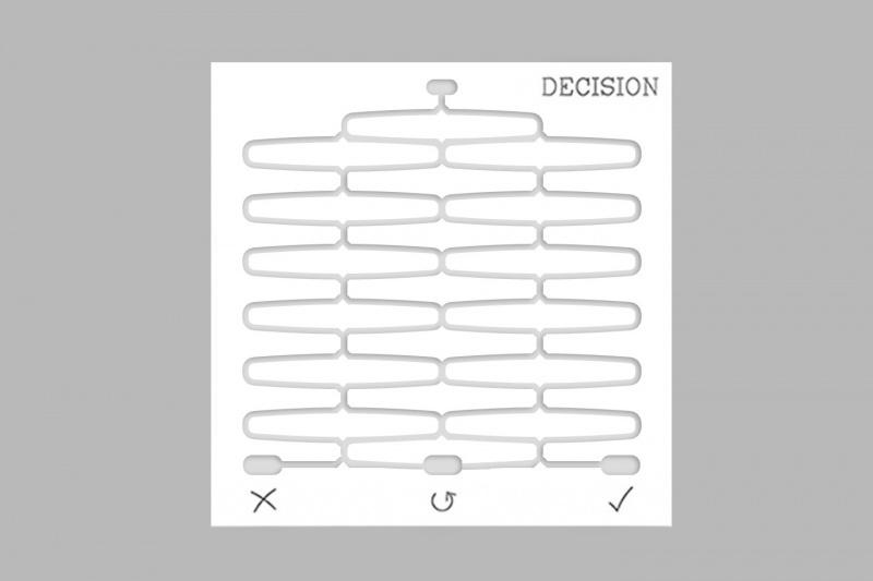 Decision white  1
