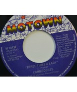 """Commodores Three Times a Lady 45 RPM Record 7"""" Motown 1978 - £3.93 GBP"""
