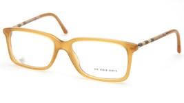 NEW BURBERRY B2137 3367 Yellow EYEGLASSES FRAME B 2137 55-16-140mm Italy - $113.84