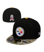 Pittsburgh Steelers New Era 59Fifty Salute Service 7 3/8 Fitted Cap Hat ... - $18.99