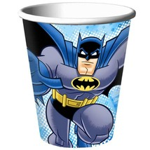 Batman Brave and The Bold Paper Cups 8 Per Package  9 oz Birthday Party Supplies - $4.41