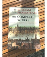 WILLIAM SHAKESPEARE THE COMPLETE WORKS COMPACT ED collection book - $5.89