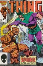 Marvel THE THING (1983 Series) #34 VF - $0.89