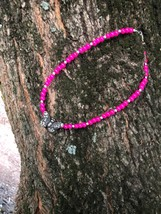 Pink Butterfly Necklace| Butterfly Necklace - $24.99