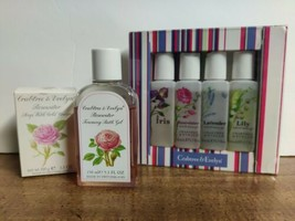 Pre-Owned Crabtree Evelyn Rosewater Soap w/Cold Cream Foaming Bath Showe... - $27.85