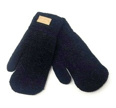 Winter Mittens, Warm Gloves, Color Black - $18.00