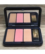 ESTEE LAUDER PURE COLOR PALETTE LOVER'S BLUSH 10 PINK KISS 02 BRONZE GOD... - $22.95