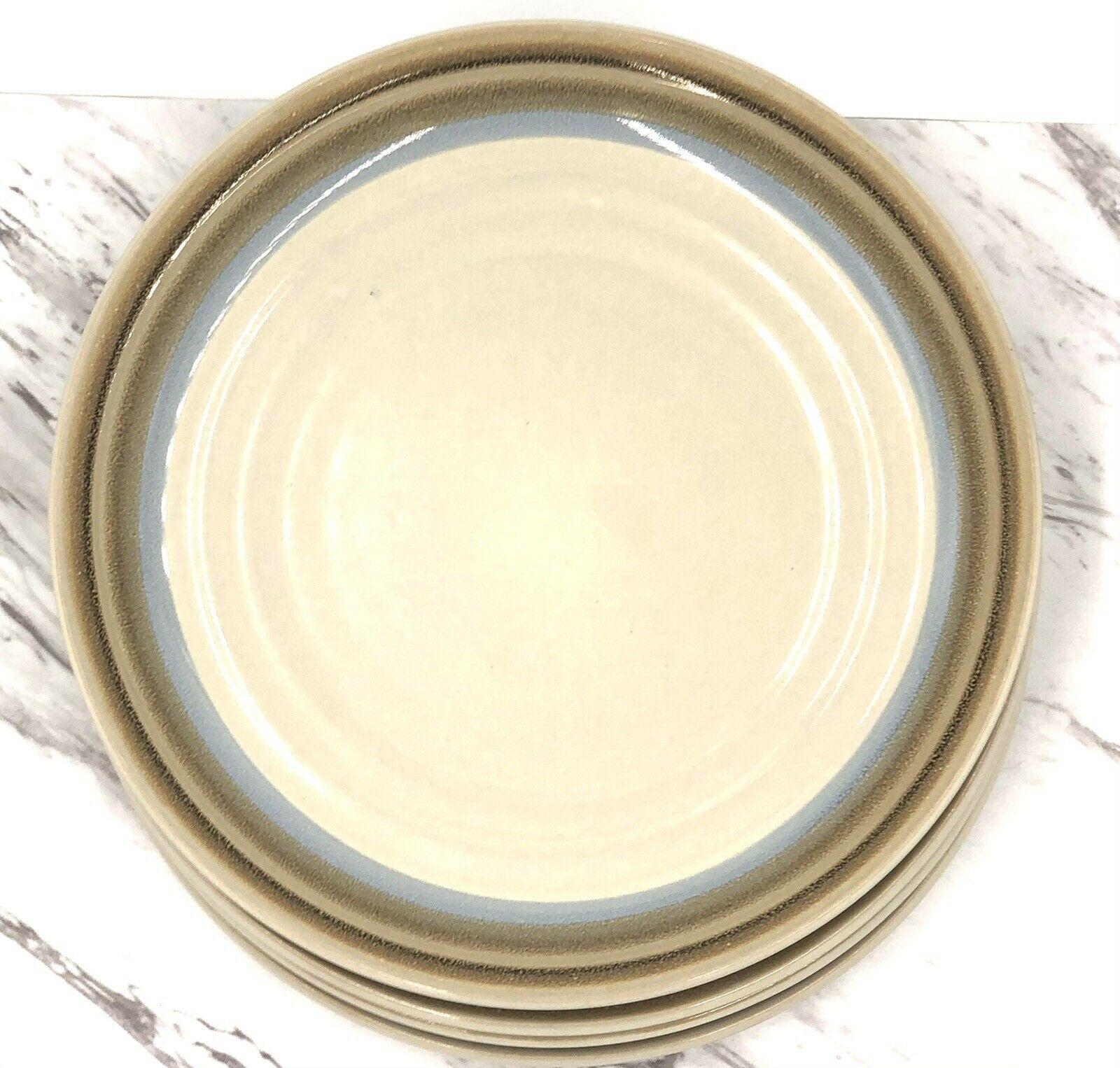 """Noritake Stoneware 8-1/4"""" PAINTED DESERT Salad Plates SET OF 4 - $49.49"""