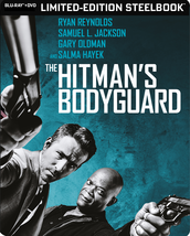 The Hitman's Bodyguard Best Buy Steelbook (Blu-ray + DVD)
