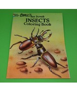 Insects Coloring Book from Dover Publications Jan Sovak Homeschool Science - $4.95