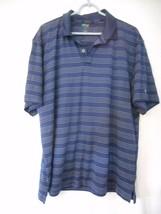 Izod Pro Series Sz XL short sleeve Blue / White Polo shirt - $14.84