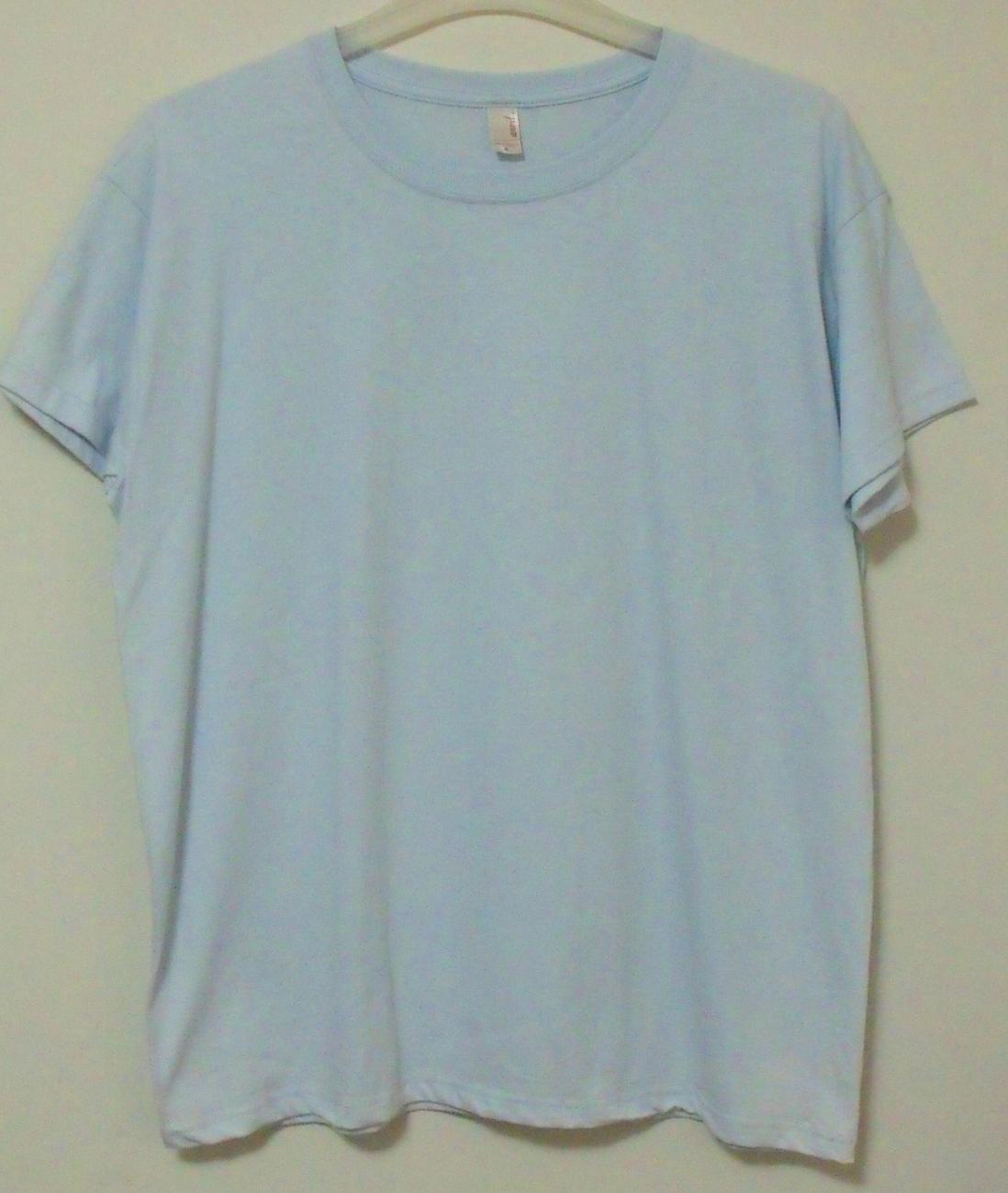 Primary image for Womens Anvil NWOT Blue Short Sleeve T Shirt Size XL
