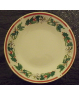 Lynns Fine China Christmas Candy Dish or Serving Bowl - $9.95