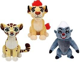 Ty Lion Guard Beanie Babies Plush - 3 Piece Set Kion, Fuli & Bunga! - $34.64