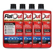 MULTI SEAL 20144 4-Pack 128 oz Sealant FlatOut Tire Additive Formula, for Travel