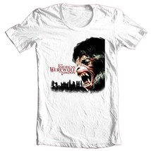 American Werewolf in London T-shirt 80's horror movie 100% cotton graphic tee image 2
