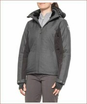 new Killtec women ski jacket coat 35245 water resistant black sz 14 - $89.19