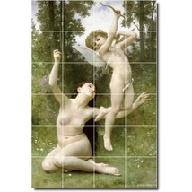 William Bouguereau Nudes Painting Tile Murals BZ00852. Kitchen Backsplash Bathro - $240.00+