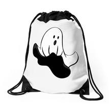 Flying Ghost Drawstring Bags - $30.00