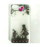 iPhone 7 and 8 Alice In Wonderland Silhouette Case Flexible New Disconti... - $12.55
