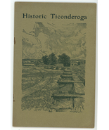 Historic Fort Ticonderoga travel booklet 1933 Revolutionary War - $9.00