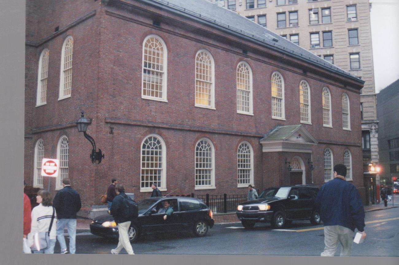 Meeting House Boston Mass. Five 3 X 5 Color Prints