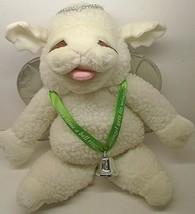 "Target 1993 Shari Lewis BABY LAMB CHOP Angel Bell Rings Hand Puppet 17"" Tall - $15.84"