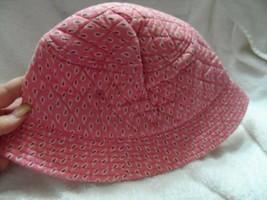 Vera Bradley sun hat in retired pink pattern - $19.50