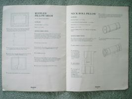 Vtg 1993 Simplicity DECOR Bedding Basics Instructional Pillows Comforters Duvets image 5
