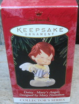 Hallmark Daisy on Cloud Water Can 10th in Series Mary's Angels 1997 Orna... - $12.99