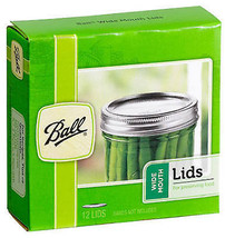 Wide-Mouth Dome Canning Lids, 12-Pk - $16.82