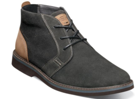 Men's Nunn Plain Toe Chukka Barklay Boots Dark Gray Multi 84793-074  - €72,13 EUR