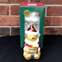 Classic Pooh Blown Glass Ornament Disney Winnie the Pooh Germany Limited... - $38.00
