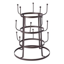 Home Traditions 3 Tier Countertop or Pantry Vintage Metal Wire Tree Stand for Co image 1