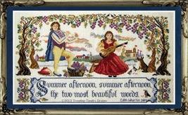 Summer Duet cross stitch chart Tempting Tangles - $14.40