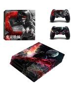 PS4 Pro Console Dualshock Skin Tokyo Ghoul Kane... - $12.00